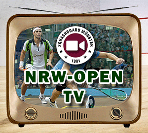 NRW-Open TV - Turnier & Squash Videos